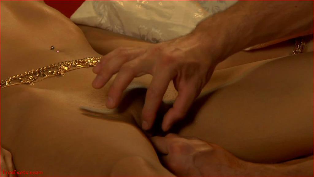 Erotic sexual massage