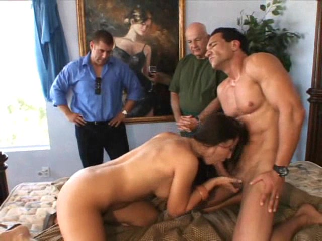 Dads shoot sperm in pussy