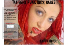 Tattooed Punk Rock Babes